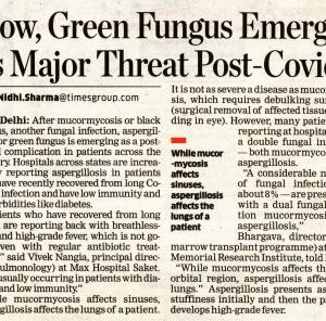 Now, Green Fungus emerges as major threat post-Covid