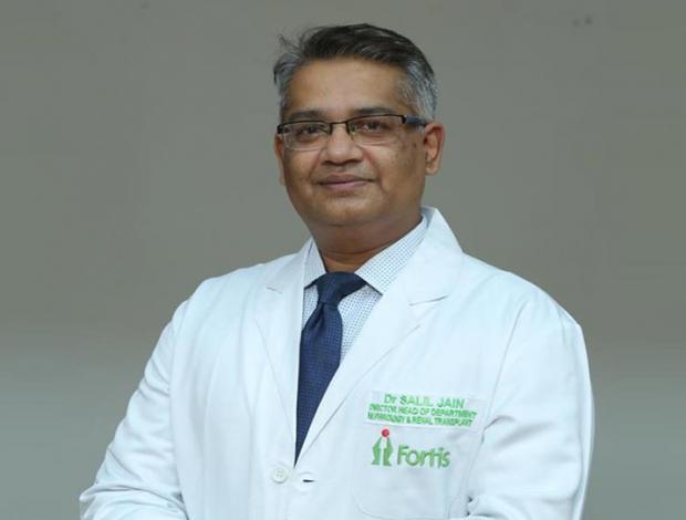 Dr. Salil Jain - Best Kidney Specialists & Nephrologists   Fortis Gurgaon