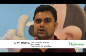 Mr. Arpit Mishra | Hodgkin's Lymphoma Treatment