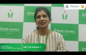 Reasons for hair fall | Dr. Sonal Bansal