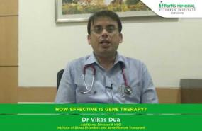 How effective is Gene Therapy in blood disorders?