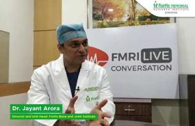 Sports injury in knee and Treatment options with Dr. Jayant Arora